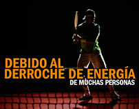Celsia Tennis - tv spot