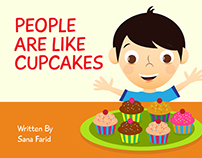 People are like Cupcakes - Book Illustration
