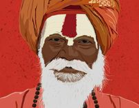 Indian Holy Man (Sadhu)