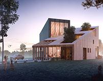 Sustainable House by Andreea Movila & Marjan Mostavi