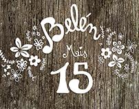Belen - Tarjeta de 15 / Sweet 15 Invitation