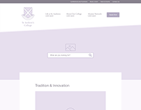 St Andrew College UX Strategy & Design