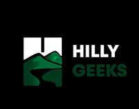 hilly geeks logo design