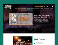 Website Design - Family Worship Center