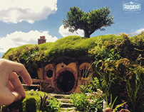 Miniature The Hobbit - Bilbo's Home
