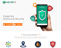 Landing page | Kaspersky mobile security