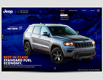 Jeep website Identity Concept 2