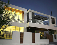 House Design at Azmeer town Lahore