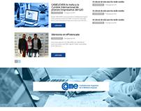 Diseño de sitio web para Came Joven - 2016