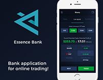 Essence Bank - Branding and Mobile Application