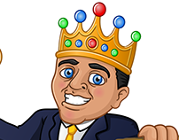 King Mascot