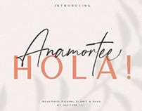 FREE | Anamortee Beautiful Script Font
