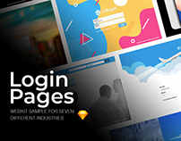 Login Angel | Web Login Page Samples