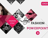 Fashion Style Powerpoint Presentation Template