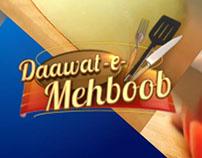 Daawat-e-Mehboob Program Packaging 2016