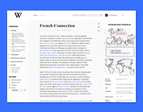 Wikipedia redesign project