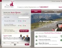 The Hartford auto insurance site.