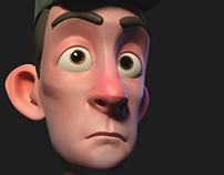 random cartoon guy