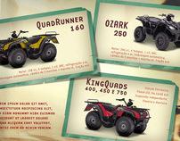 Suzuki  .  ATVs release material