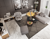 Mr Thành - Living Room - Concept