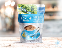 TURKISH COFFEE WITH MASTIC GUM PACKAGE DESIGN
