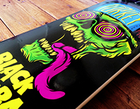 Black Mamba Skate Deck