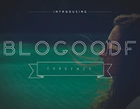 Blogoodfont is a unique minimalistic typeface.