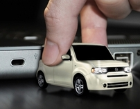 Nissan Cube - Flash Drive