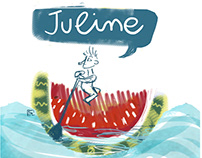 Juline illustrations