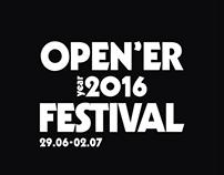 OPEN'ER T-SHIRT 2016