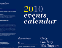 Gallery Events Calendar