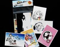 GIRLZ postcards