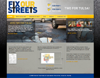 Fix Our Streets Web Design