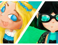 The Powerpuff Girls Today