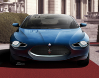 My Imagination of a Maserati Quattroporte