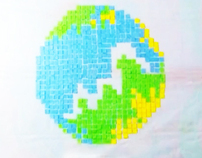Stop motion animation (SAVE EARTH)