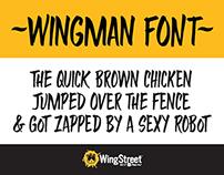 WingStreet's Wingman Font