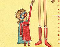 Superwoman Mama Spaghetti Toes