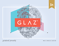 GLΛZ. 3D Printed Jewelry Website