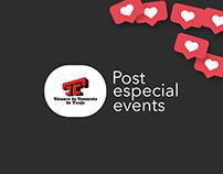 Image design for events, Cámara de Comercio de Tunja