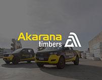 Akarana Timbers Rebrand