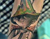 włóczykij tattoo