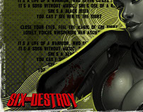 Ninja Noir (SIX & DESTROY project)