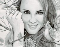 Melanie C - Illustrations by Mr. Gabriel Marques