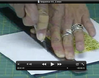 How to cut foam core with an exacto knife