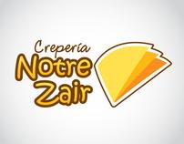Logotipo - Crepería Notre Zair