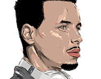Adobe DRAW : NBA series - Stephen Curry 2