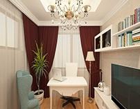 Amenajare casa clasica cu lustre candelabre de lux
