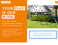 GreenPlay Website Design