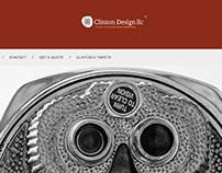 Clinton Design, LLC Company Website